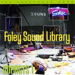 foley sound effect libraries hollywood edge